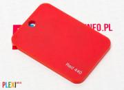 PLEXI Czerwone 440 PLEKSI PMMA