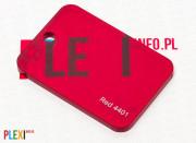PLEXI Czerwone 4401 PLEKSI PMMA
