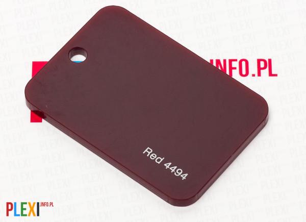 PLEXI Czerwone 4494 PLEKSI PMMA