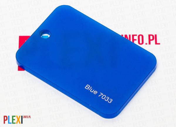 PLEXI Niebieskie 7033 PLEKSI PMMA