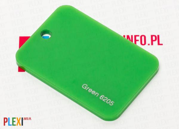 PLEXI Zielone 6205 PLEKSI PMMA