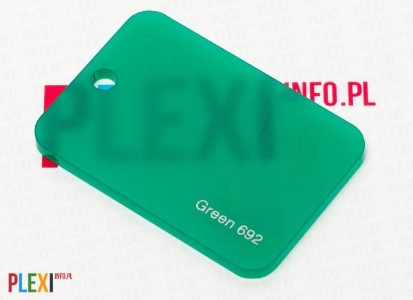 PLEXI Zielone 692 PLEKSI PMMA