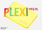 PLEXI Żółte 2202 PLEKSI PMMA