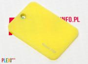 PLEXI Żółte 250 PLEKSI PMMA